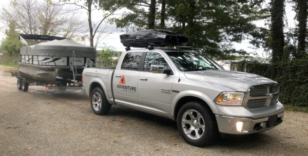 rent a rooftop cargo carrier thule